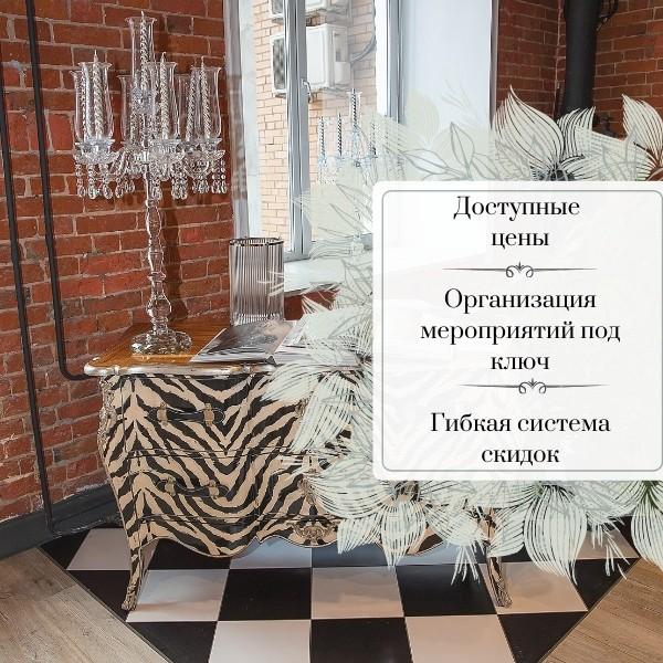 Фотография интерьева лофта Adornos Loft на Родчельской 15. Элементы декора.