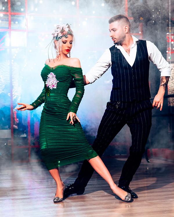 Фото преподавателей аргентинского танго Кирилла Паршакова и Анны Гудыно