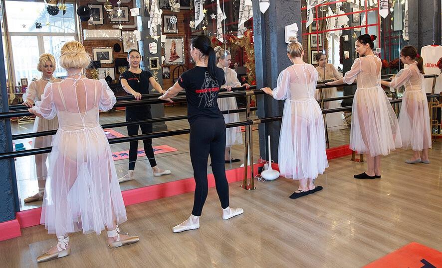 Боди балет, групповые занятия в Adornos Center.